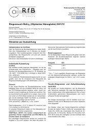 Hinweise zur Auswertung GH1/12 - des RfB