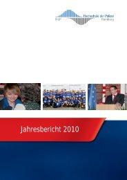 Jahresbericht 2010 - Hochschule der Polizei Hamburg (HdP ...