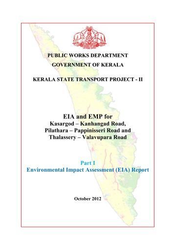 Environmental Impact Assessment (EIA) Report - Kerala PWD