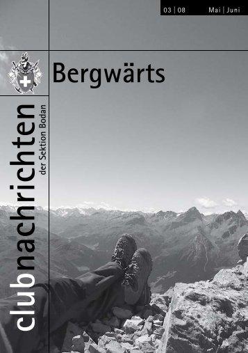 Bergwärts 3 - SAC Sektion Bodan
