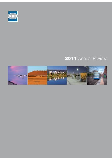 2011 Annual Review - GHD