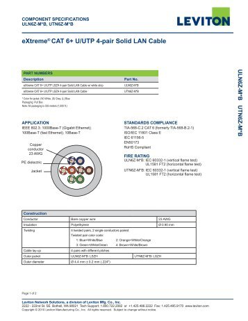 Cat 6 futp 4 pair solid lan cable extreme cat 6 uutp 4 pair solid lan cable sciox Choice Image