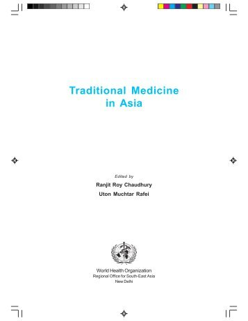 Traditional Medicine in Asia