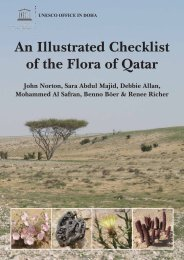 An Illustrated Checklist of the Flora of Qatar - Unesco