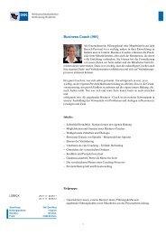 WAK 2011_Business Coach.pdf - IHK Wirtschaft und Familie