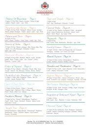 Itineraries UK.cdr - Tamarind Tours India