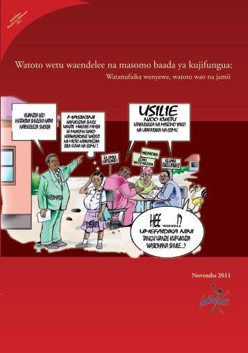 Watoto wetu waendelee na masomo baada ya ... - Soma Tanzania