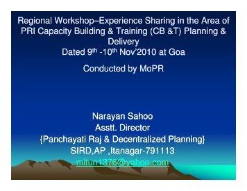 (Microsoft PowerPoint - Arunachal Pradesh ... - PRI Resources