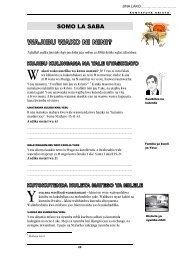 SOMO LA SABA - Bible Help Online