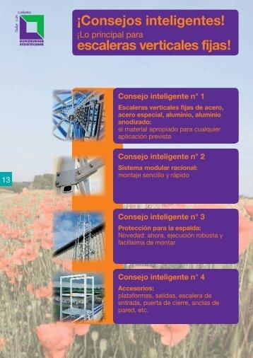 consejos escaleras verticales fijas logismarket