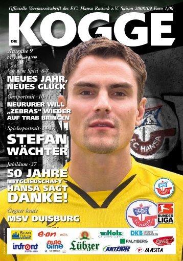 MSV - FC Hansa Rostock