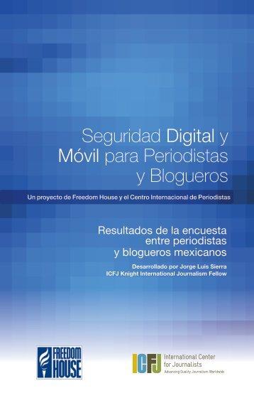 Seguridad Digital y Móvil para Periodistas y Blogueros