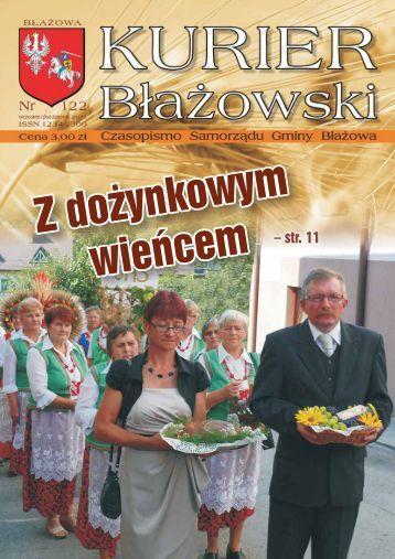 Z dożynkowym wieńcem Z dożynkowym wieńcem - Kurier Błażowski