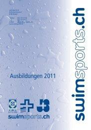 Ausbildungen 2011 - Swimsports.ch