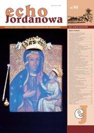 Echo Jordanowa nr 92 - Urząd Miasta Jordanów