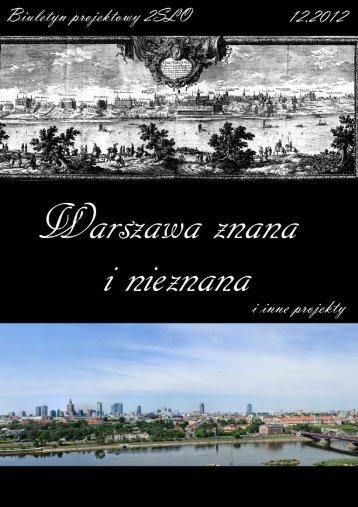 Warszawa znana i nieznana 2012 - 2 SLO