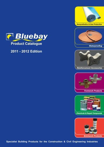 Product Catalogue 2011 - 2012 Edition - Bluebay Building Products