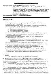 Sitzung des Gemeinderates vom 09. September 2010 Anwesend ...
