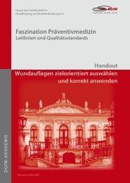 Lokale Wundtherapie (Bauerfeind und Bunse) - Deutsche ...