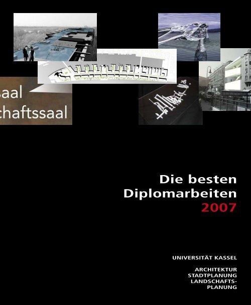 Die besten Diplomarbeiten 2007 - KOBRA - Universität Kassel