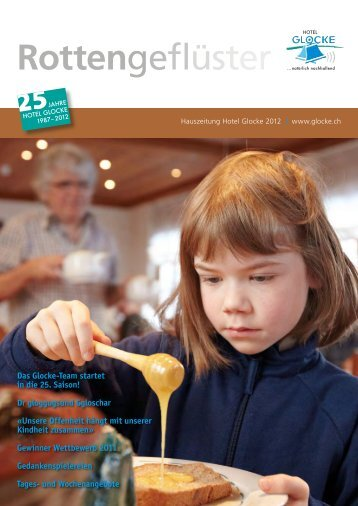Hauszeitung 2012 PDF - Hotel Glocke
