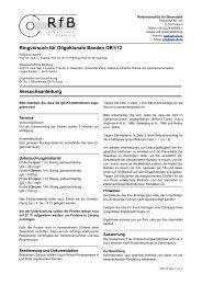 Ringversuch für Oligoklonale Banden OB1/12 ... - des RfB