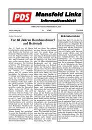 4/2005 - DIE LINKE. Kreisverband Mansfeld-Südharz