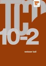Cover Weisser Ball.indd - tennisclub meilen