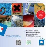 Besucherflyer 2013 - Deutsches Forum Innenraumhygiene