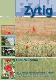 PZM-Zytig Juli 2012 - Psychiatriezentrum Münsingen - Kanton Bern