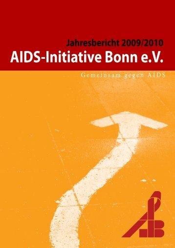 Jahresbericht und Jahresabschluss 2009-2010 - AIDS INITIATIVE ...