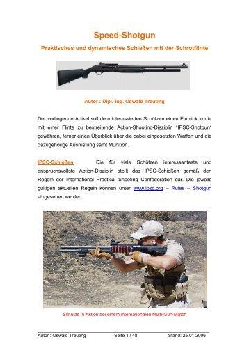 Speed - Shotgun - Jagd & Sportschützen Marl eV
