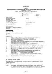 Protokoll der Sitzung vom 6.02.2012 - Gemeinde Hohne