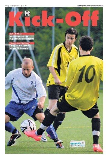 Kick-Off 2012 - Volksstimme