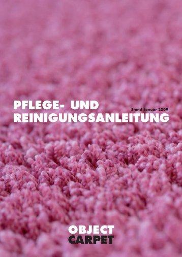 PFLEGE- UND REINIGUNGSANLEITUNG - Paul Geißler GmbH