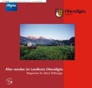4. Wohnen und Pflegen - Landkreis Oberallgäu
