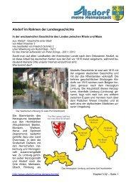 Landes zwischen Rhein und Maas