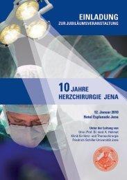 Einladung und Programm - Klinik für Herz- und Thoraxchirurgie ...