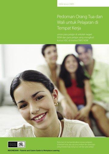 Pedoman Orang Tua dan Wali untuk Pelajaran di - Department of ...