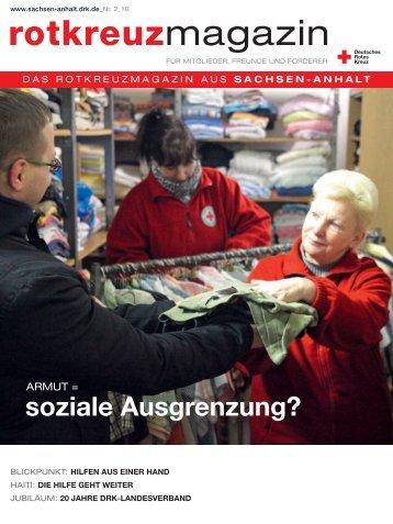 rotkreuzmagazin - (DRK) Landesverband Sachsen-Anhalt