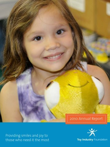 2010 Annual Report - Toy Industry Association