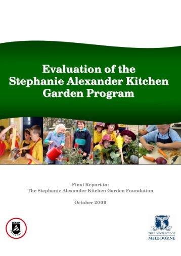 Evaluation of the Stephanie Alexander Kitchen Garden Program