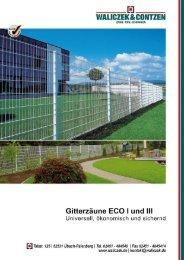 Gitterzaun ECO I und III