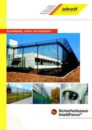 Sicherheitszaun IntelliFence - Waliczek und Contzen