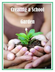Creating a School Garden - Get a Free Blog
