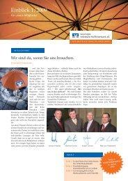 Ausgabe Nr. 1 - Vereinigte Volksbank Raiffeisenbank eG