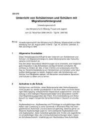 Unterricht von Schülerinnen und Schülern mit Migrationshintergrund