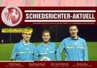 Ausgabe #11 / November 2010 - Schiedsrichter Gelsenkirchen