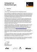 Projekthandbuch - Volleyball tut Deutschland gut - Seite 3