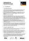 Projekthandbuch - Volleyball tut Deutschland gut - Seite 4
